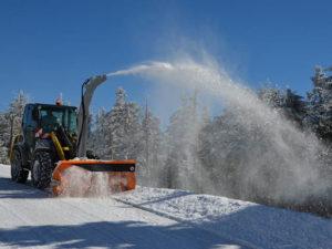 Winterdienst und Schneeräumen in Bad Klosterlausnitz