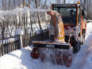 Winterdienst und Schneeräumen in Altona