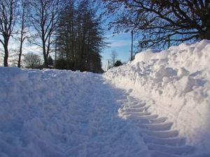 Winterdienst und Schneeräumen in Dahlen, Sachsen